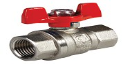 1 BUTTERFYLY HANDLE BALL VALVE (Female) (Heavy Type)